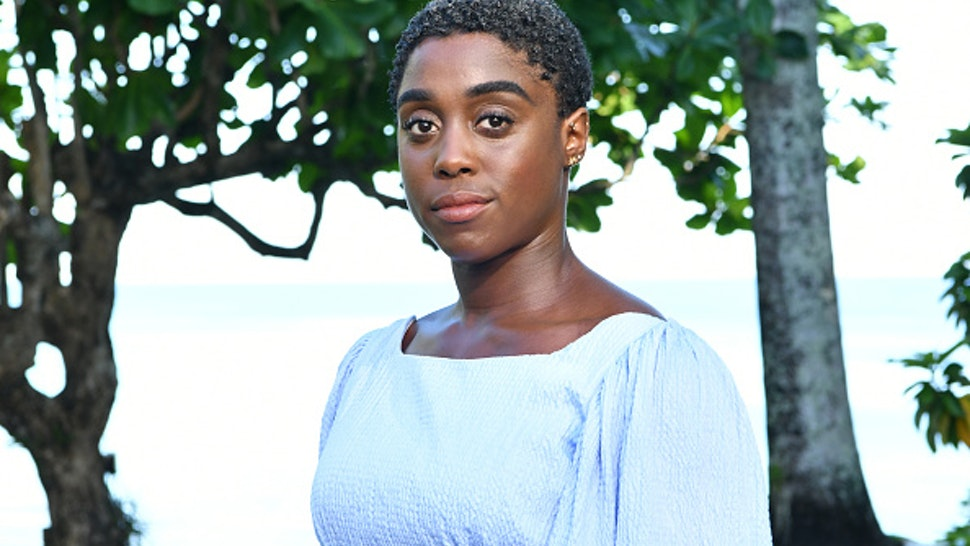 "MONTEGO BAY, JAMAICA - APRIL 25: Cast member Lashana Lynch attends the ""Bond 25"" film launch at Ian Fleming's home ""GoldenEye"" on April 25, 2019 in Montego Bay, Jamaica."
