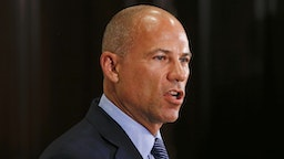 Attorney Michael Avenatti, representing some accusers of singer R. Kelly, details recent federal charges against the artist during a news conference at the Four Seasons on July 15, 2019 in Chicago, Illinois. Kelly has been charged with multiple sex crimes involving four women, three of whom were underage at the time of the alleged encounters.