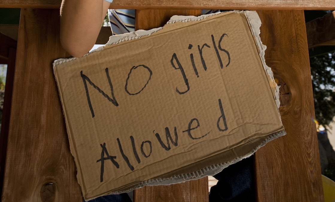 Schiff Imposes 'No Girls Allowed' Rule to Keep From Getting Stefanik's Cooties [Satire]