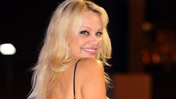 Actress Pamela Anderson attends the 'Rock My Swim' fashion show by Mode City Paris at Parc des Expositions Porte de Versailles on July 8, 2017 in Paris, France. (Photo by Frederic Stevens/WireImage)
