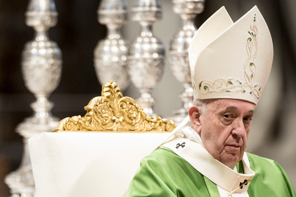 Pope Francis Proposes Adding 'Ecological Sin' To Catechism