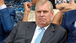 LONDON, ENGLAND - JULY 10: Prince Andrew, Duke of York attends day eleven of the Wimbledon Tennis Championships at Wimbledon on July 10, 2015 in London, England.
