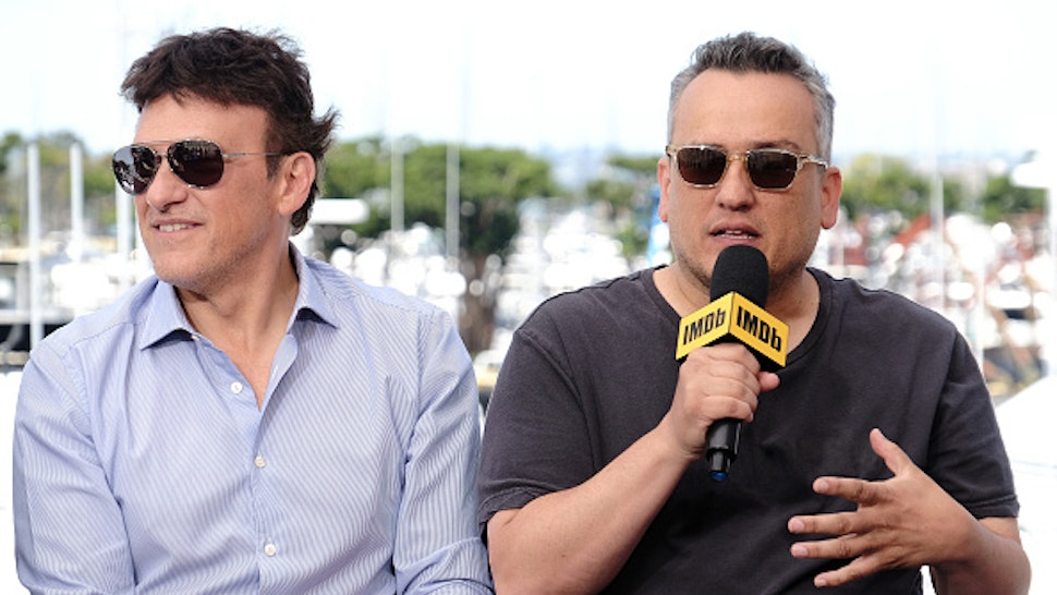 SAN DIEGO, CALIFORNIA - JULY 20: Anthony Russo and Joe Russo speak onstage at the #IMDboat at San Diego Comic-Con 2019: Day Three at the IMDb Yacht on July 20, 2019 in San Diego, California.