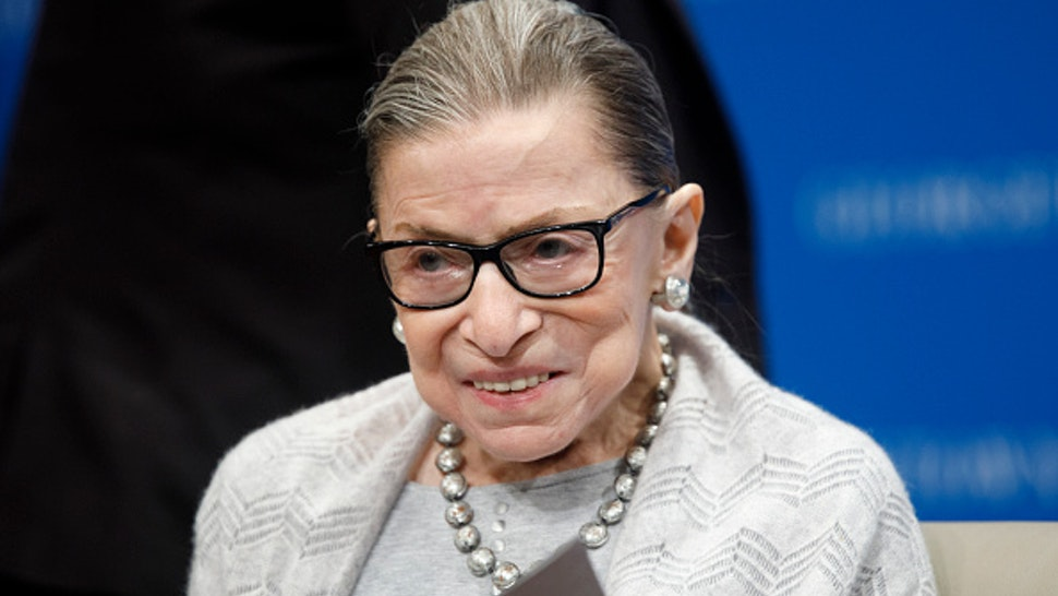 WASHINGTON, DC - SEPTEMBER 12: Supreme Court Justice Ruth Bader Ginsburg delivers remarks at the Georgetown Law Center on September 12, 2019, in Washington, DC. Justice Ginsburg spoke to over 300 attendees about the Supreme Court's previous term.