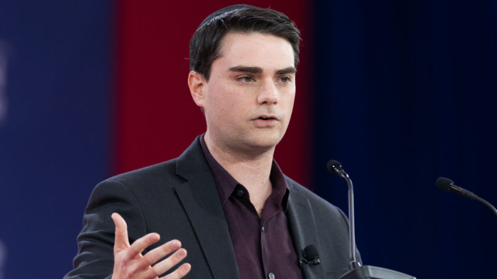 Ben Shapiro, host of his online political podcast The Ben Shapiro Show, at the Conservative Political Action Conference (CPAC) sponsored by the American Conservative Union held at the Gaylord National Resort & Convention Center in Oxon Hill.