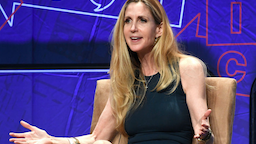 Ann Coulter speaks onstage at Politicon 2018 at Los Angeles Convention Center on October 20, 2018 in Los Angeles, California.
