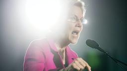 Democratic presidential candidate Sen. Elizabeth Warren (D-MA), speaks at a campaign event at Clark Atlanta University on November 21, 2019 in Atlanta, Georgia.