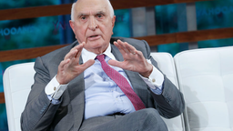 Home Depot co-funders Ken Langone peaks during the 2018 Yahoo Finance All Markets Summit at The Times Center on September 20, 2018 in New York City.