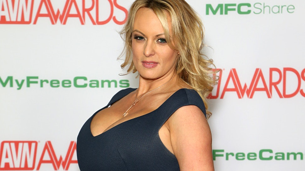 LAS VEGAS, NEVADA - JANUARY 26: Adult film actress/director Stormy Daniels attends the 2019 Adult Video News Awards at The Joint inside the Hard Rock Hotel & Casino on January 26, 2019 in Las Vegas, Nevada.