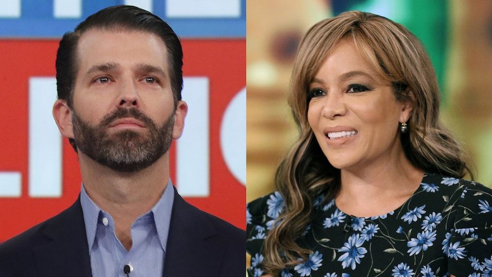 Donald Trump Jr Sunny Hostin on The View