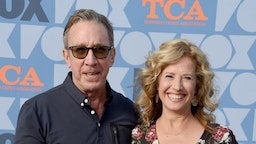 Tim Allen and Nancy Travis arrive at the FOX Summer TCA 2019 All-Star Party at Fox Studios on August 7, 2019 in Los Angeles, California. (Photo by Gregg DeGuire/FilmMagic)