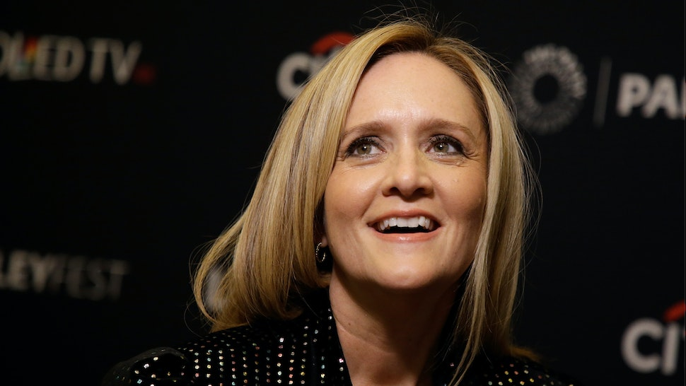 """Samantha Bee attends PaleyFest NY 2017, """"Full Frontal with Samantha Bee"""" at The Paley Center for Media on October 12, 2017 in New York City."""
