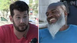 Steven Crowder and Prof Xavier.