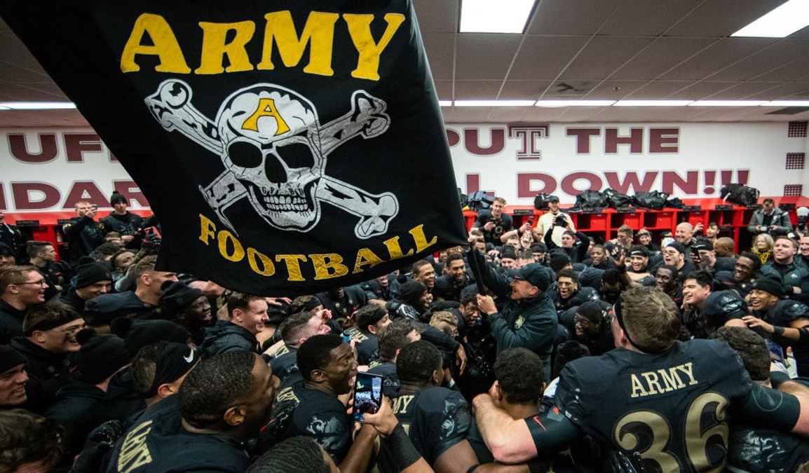 Army Football Program Drops Motto Tied To White Supremacist Gangs