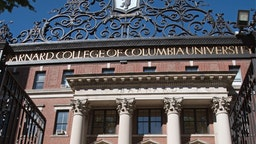 Columbia University New York USA, Barnard College of Columbia University on Broadway NYC.