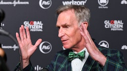 Bill Nye attends the 2019 Global Citizen Festival: Power The Movement in Central Park on September 28, 2019 in New York City. (Photo by Noam Galai/Getty Images for Global Citizen)