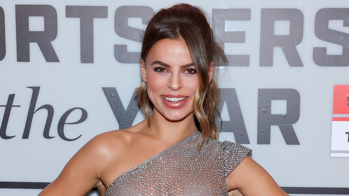 Sports Illustrated Model Brooks Nader Wears See-Through Dress To Awards Show
