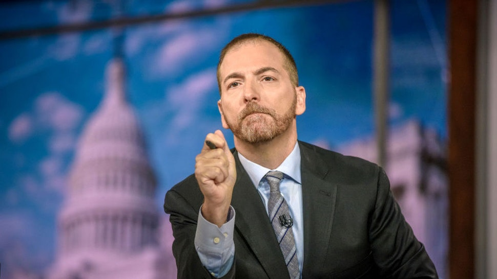 """Moderator Chuck Todd appears on """"Meet the Press"""" in Washington, D.C., Sunday August 4, 2019. (Photo by: William B. Plowman/NBC/NBC Newswire/NBCUniversal via Getty Images)"""