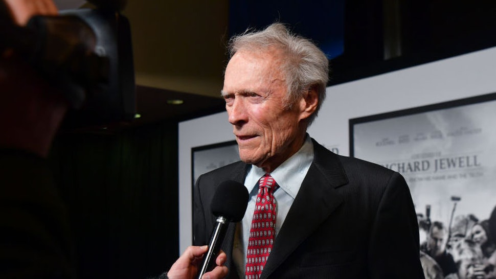 """Clint Eastwood attends the """"Richard Jewell"""" Atlanta Screening at Rialto Center of the Arts on December 10, 2019 in Atlanta, Georgia.(Photo by Prince Williams/Wireimage)"""
