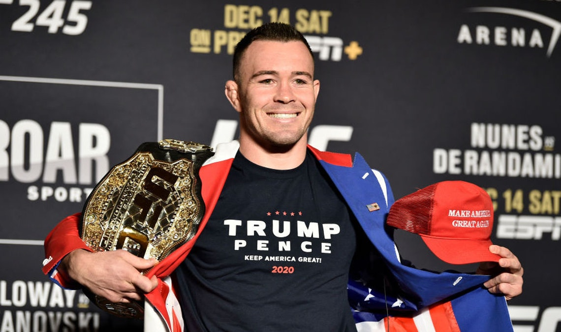 Pro-Trump Contender Colby Covington Battles For The Welterweight Title At UFC 245