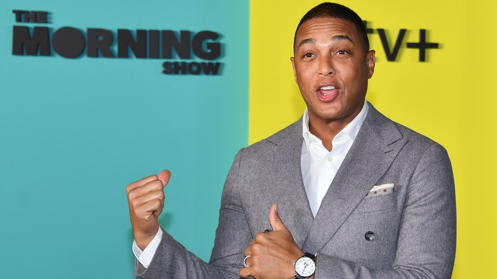 Don Lemon arrives for Apples The Morning Show global premiere at Lincoln Center- David Geffen Hall on October 28, 2019 in New York.