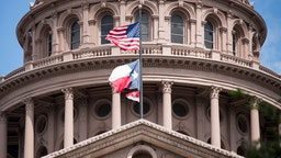 UNITED STATES - SEPTEMBER 30: Texas State Capitol building in Austin, Texas.