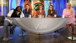 "April Ryan and John C. Reilly are the guests today, Thursday, November 8, 2018 on Walt Disney Television via Getty Images's ""The View."""