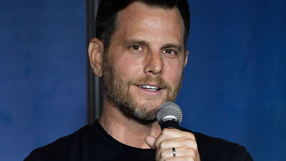 Dave Rubin at The Ice House Comedy Club on March 8, 2019 in Pasadena, California.