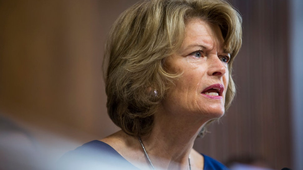 Senate Energy and Natural Resources Committee Chairman Senator Lisa Murkowski (R-AK) speaks during a Senate Energy and Natural Resources Committee confirmation hearing on March 28, 2019 in Washington, DC.