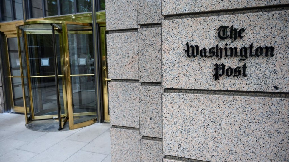 The building of the Washington Post newspaper headquarter is seen on K Street in Washington DC on May 16, 2019. - The Washington Post is a major American daily newspaper published in Washington, D.C., with a particular emphasis on national politics and the federal government. It has the largest circulation in the Washington metropolitan area.
