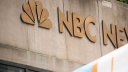 A view of NBC News Studios at Rockefeller Plaza on September 02, 2019 in New York City.