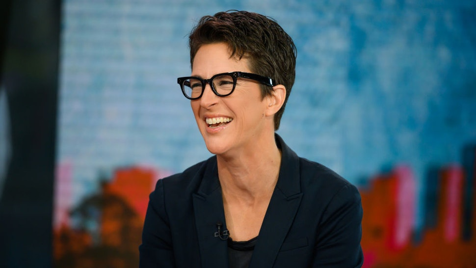 TODAY -- Pictured: Rachel Maddow on Tuesday, October 2, 2019