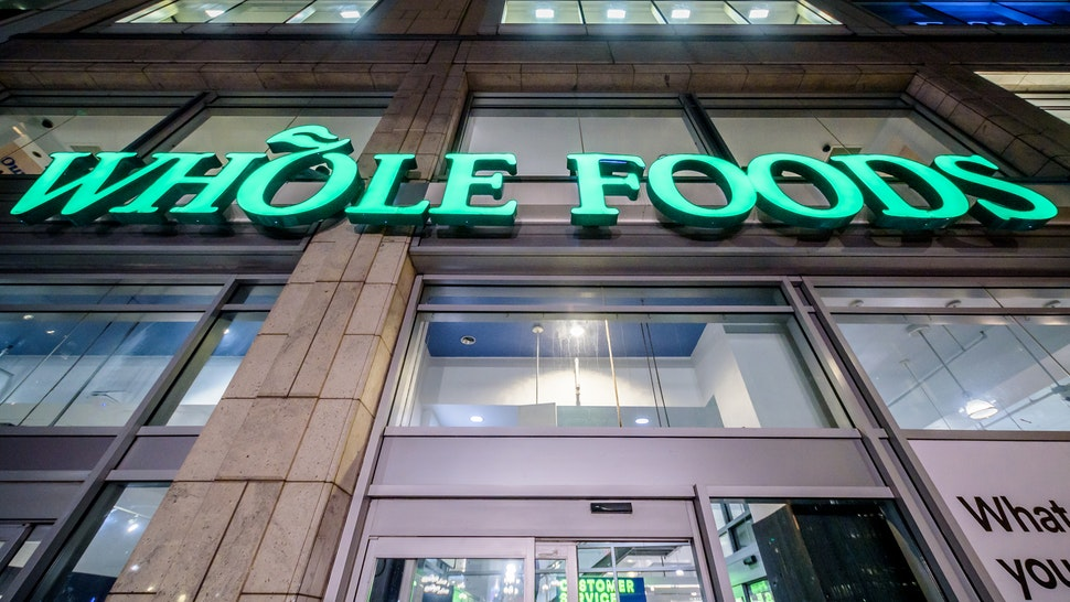 MANHATTAN, NEW YORK, UNITED STATES - 2019/11/08: Whole Foods Market store front at Union Square. (Photo by Erik McGregor/LightRocket via Getty Images)