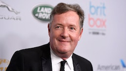 Piers Morgan attends the 2019 British Academy Britannia Awards presented by American Airlines and Jaguar Land Rover at The Beverly Hilton Hotel on October 25, 2019 in Beverly Hills, California.