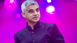 Sadiq Khan, Mayor of London opens The London Mayor's Diwali 2019 Celebrations, the festival of victory of light over darkness, good over evil and knowledge over ignorance at Trafalgar Squareuare on November 3, 2019 in London, England.