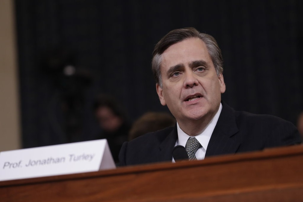 Liberal Law Prof Turley: Not A 'Sin' To Testify For Republicans