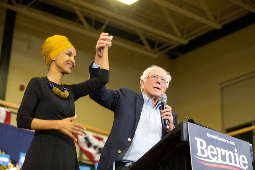 Sanders, Appearing With Omar, Lauds Her: 'One Of The Bravest Members Of The United States Congress'