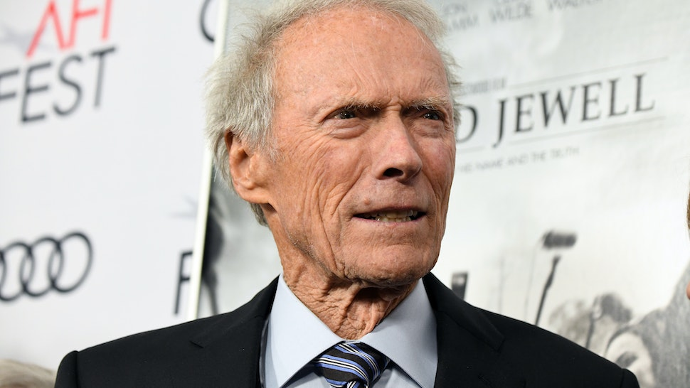 """HOLLYWOOD, CALIFORNIA - NOVEMBER 20: Clint Eastwood attends the """"Richard Jewell"""" premiere during AFI FEST 2019 Presented By Audi at TCL Chinese Theatre on November 20, 2019 in Hollywood, California. (Photo by Michael Kovac/Getty Images for AFI)"""