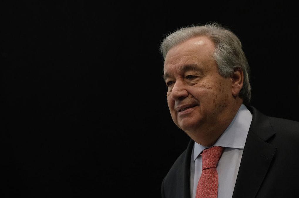 U.N. Chief Warns At Global Warming Summit: 'Stop Digging And Drilling'