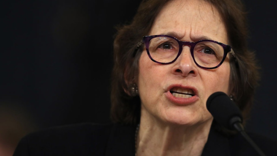 Constitutional scholar Pamela Karlan of Stanford University testifies before the House Judiciary Committee in the Longworth House Office Building on Capitol Hill December 4, 2019 in Washington, DC.