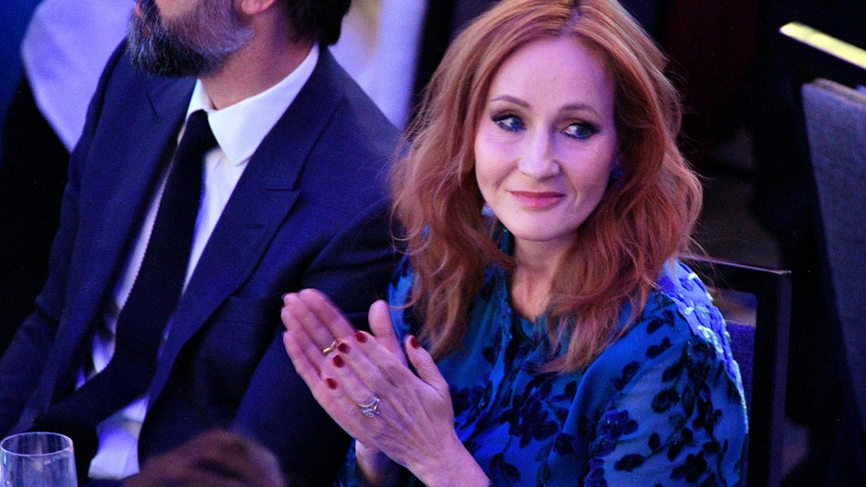 NEW YORK, NEW YORK - DECEMBER 12: J.K. Rowling arrives at the 2019 RFK Ripple of Hope Awards at New York Hilton Midtown on December 12, 2019 in New York City. (Photo by Dia Dipasupil/Getty Images)