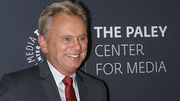 TV personality Pat Sajak attends The Wheel of Fortune: 35 Years as America's Game hosted by The Paley Center For Media at The Paley Center for Media on November 15, 2017 in New York City.