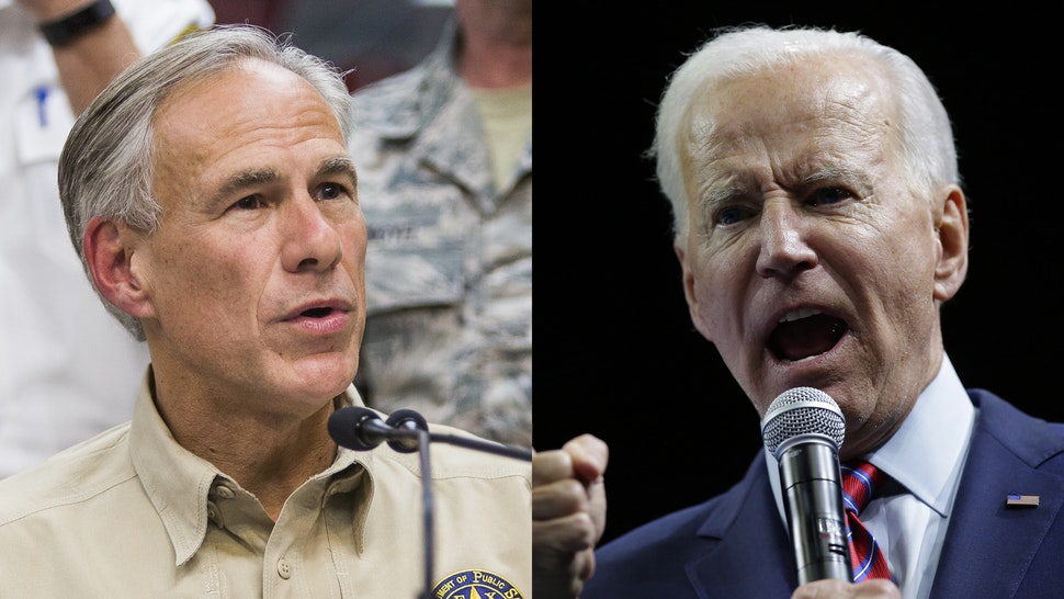 Greg Abbott Joe Biden