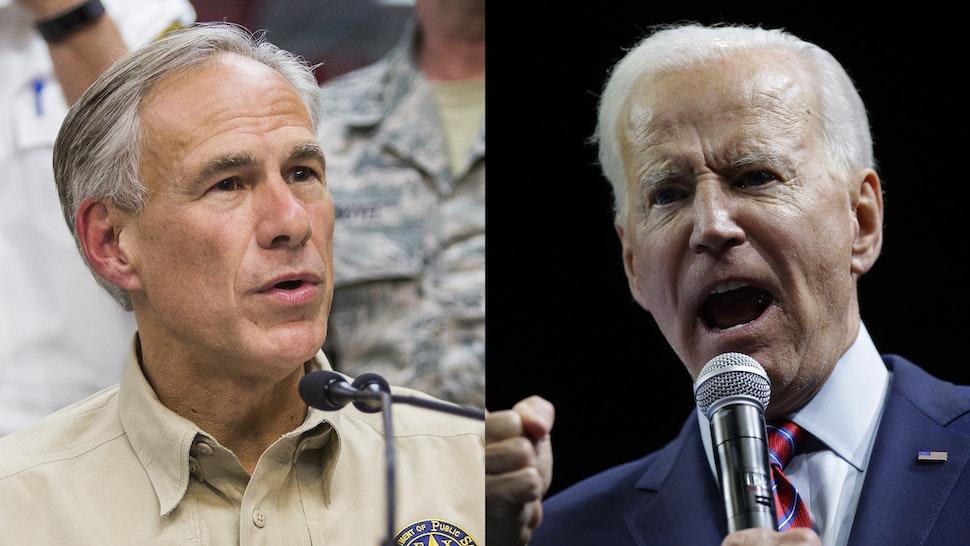 Greg Abbott Joe Biden
