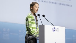 MADRID, SPAIN - DECEMBER 11: Swedish environment activist Greta Thunberg gives a speech at the plenary session during the COP25 Climate Conference on December 11, 2019 in Madrid, Spain. The COP25 conference brings together world leaders, climate activists, NGOs, indigenous people and others for two weeks in an effort to focus global policy makers on concrete steps for heading off a further rise in global temperatures.