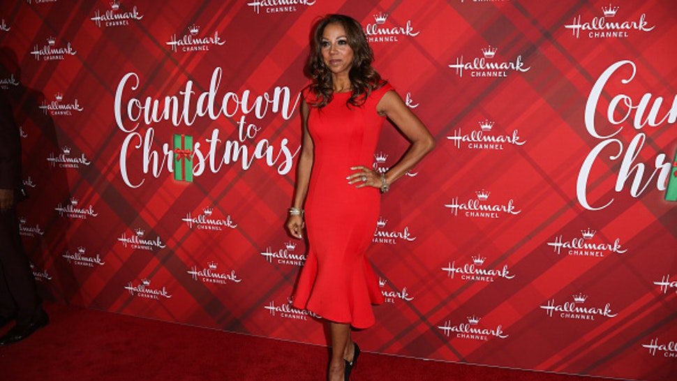 "LOS ANGELES, CA - DECEMBER 04: Actress Holly Robinson Peete attends the Hallmark Channel's Countdown To Christmas Celebration and VIP screening of ""Christmas At Holly Lodge"" at The Grove on December 4, 2017 in Los Angeles, California."