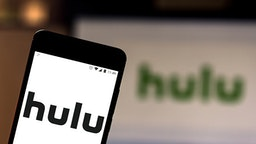 BRAZIL - 2019/05/21: In this photo illustration the Hulu logo is seen displayed on a smartphone.
