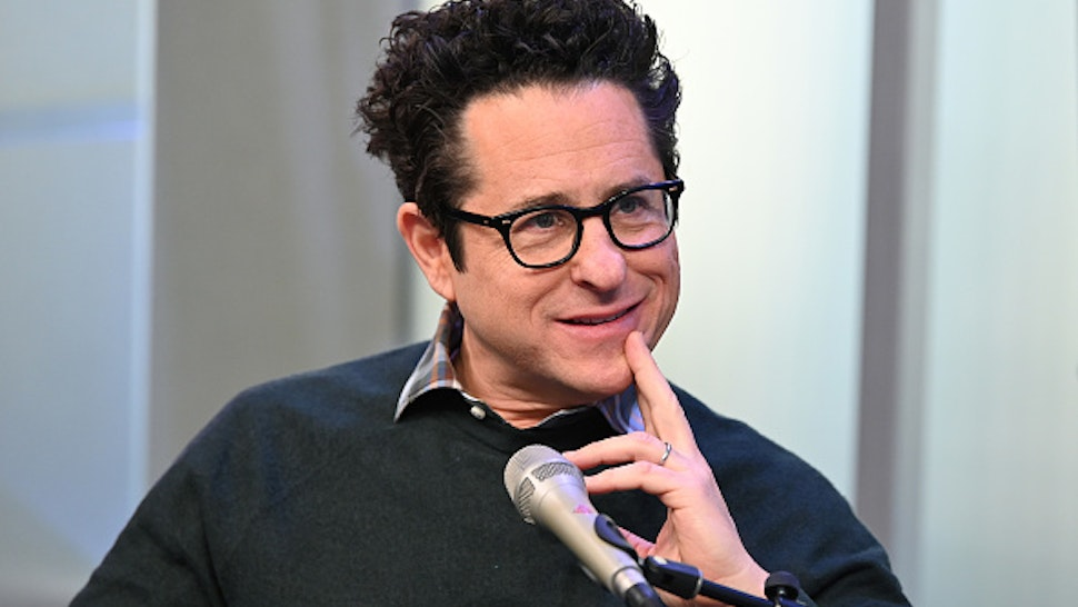 """NEW YORK, NEW YORK - NOVEMBER 25: (EXCLUSIVE COVERAGE) Filmmaker J.J. Abrams visits Entertainment Weekly at SiriusXM Studios to discuss """"Star Wars: The Rise of Skywalker"""" on November 25, 2019 in New York City."""