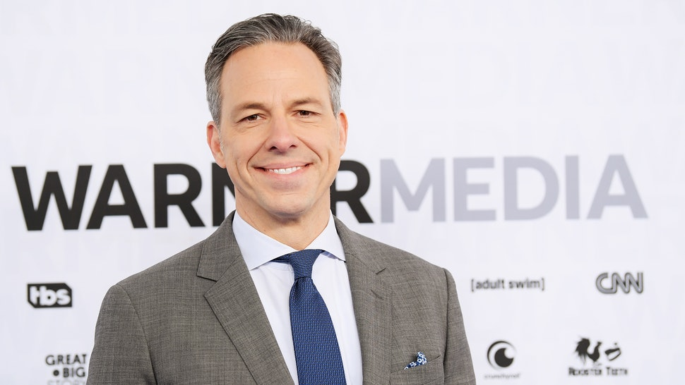 Jake Tapper of CNN's The Lead with Jake Tapper and CNN's State of the Union with Jake Tapper attends the WarnerMedia Upfront 2019 arrivals on the red carpet at The Theater at Madison Square Garden on May 15, 2019 in New York City.