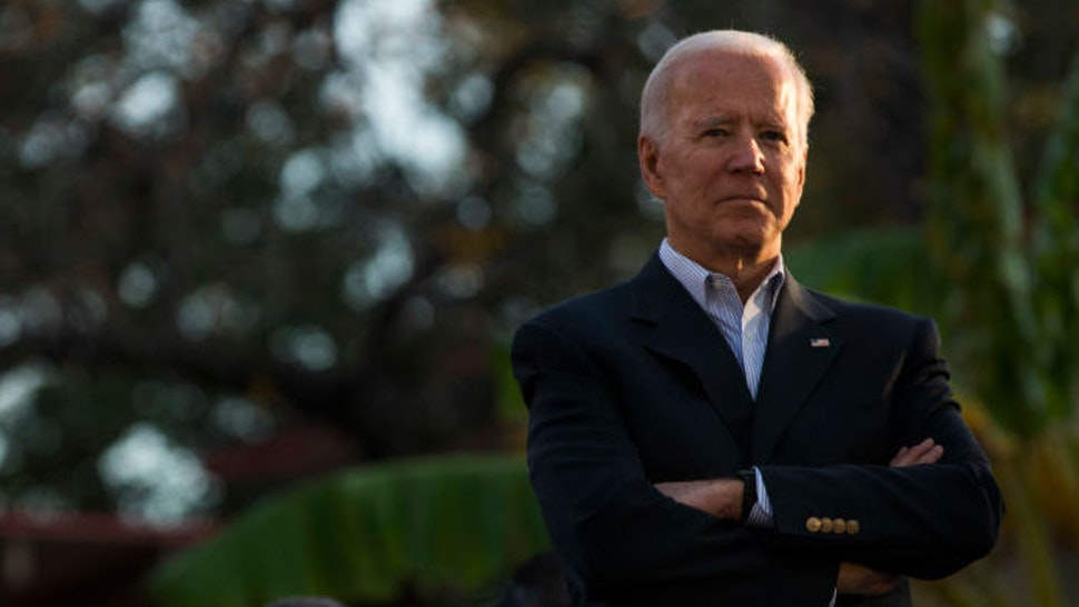 Democratic presidential candidate and former U.S. Vice President Joe Biden listens while he is introduced at a community event while campaigning on December 13, 2019 in San Antonio, Texas. Texas will hold its Democratic primary on March 3, 2020, also known as Super Tuesday. (Photo by Daniel Carde/Getty Images)